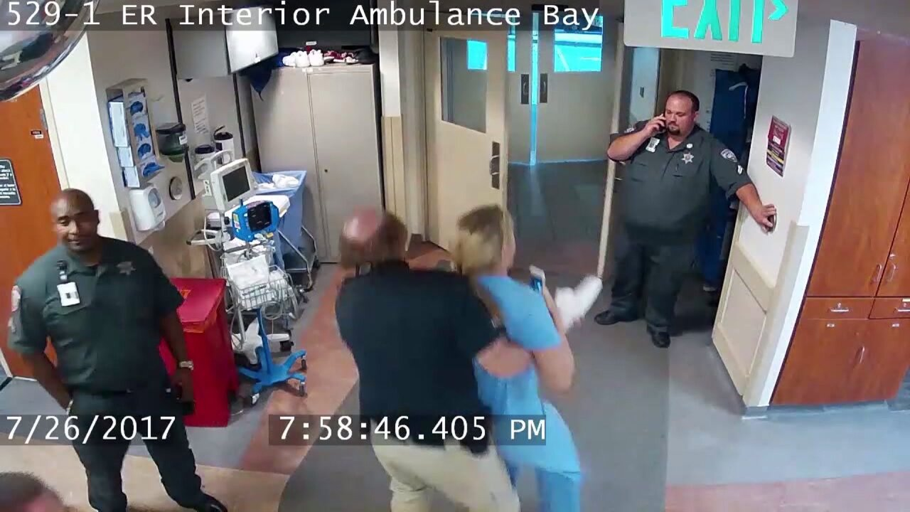 "Salt Lake City mayor, police chief respond to ""unacceptable"" nurse arrestvideo"