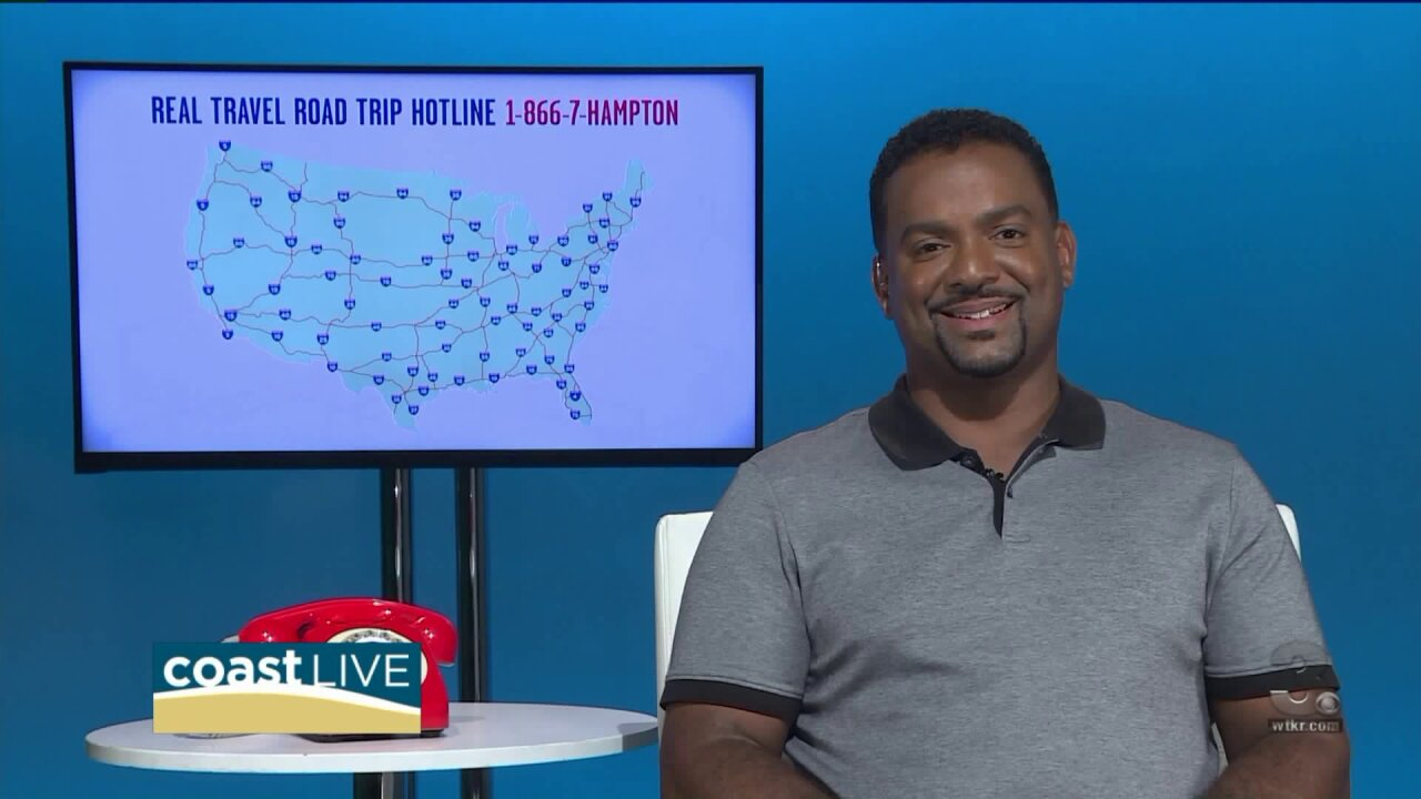Actor Alfonso Ribeiro shares some tips for surviving your next road trip on CoastLive