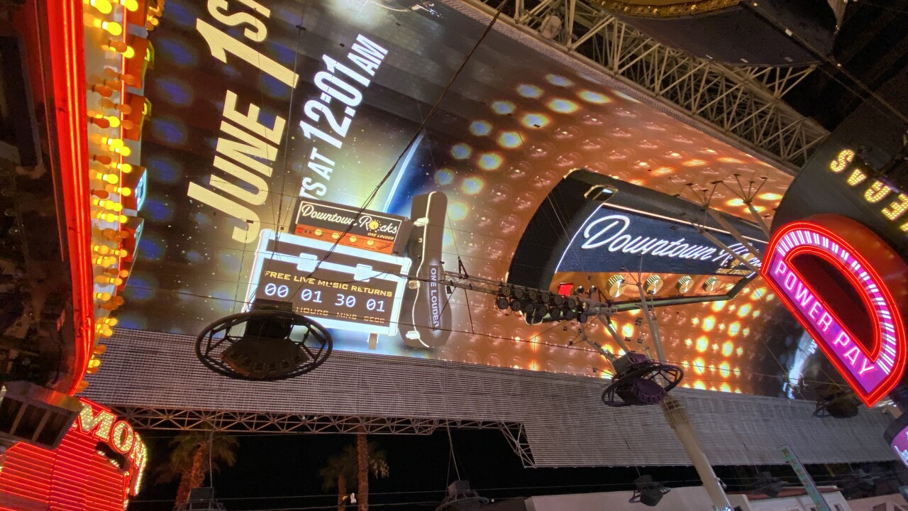 The Fremont Street Experience, the six-block entertainment district located in historic downtown Las Vegas, announced its long-awaited return of free live music to its iconic stages.