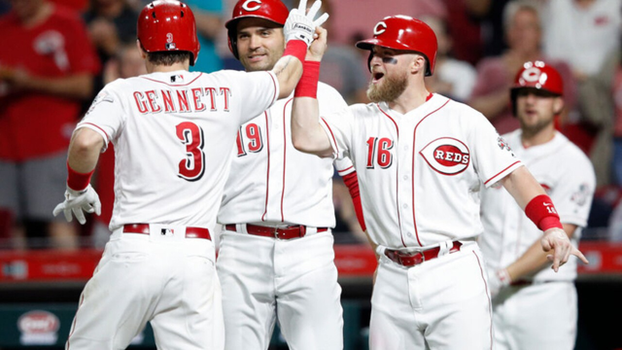 Popo in 9: Bet on Scooter Gennett when the bases are loaded