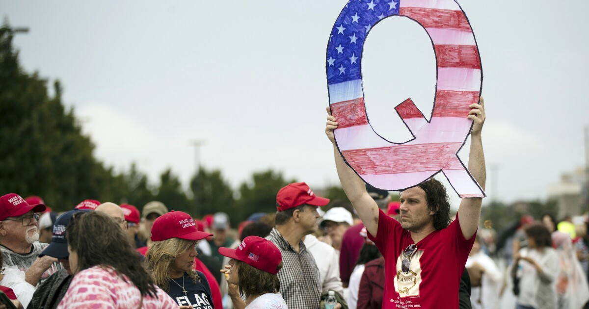 QAnon conspiracy theories point followers to March 4, second inauguration