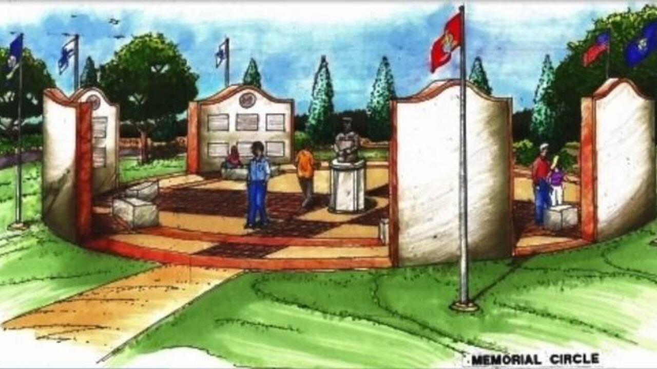 Group trying to create veteran memorial