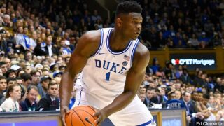 Zion's time: Williamson the center of attention at NBA draft