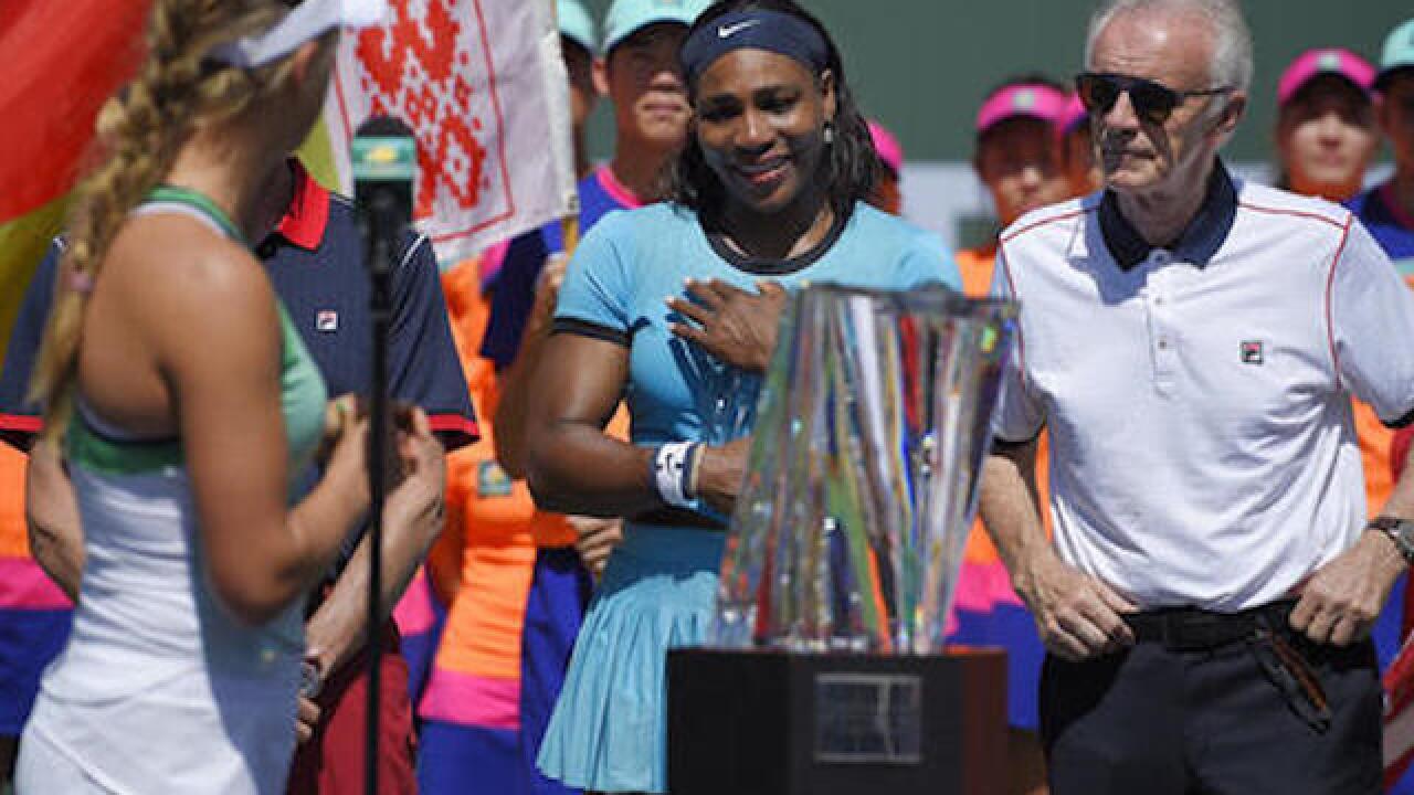 WTA Tour CEO assails 'alarming' criticism of female players