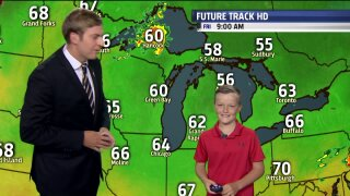 August Weather Kid, Brody, predicts Labor Day forecast