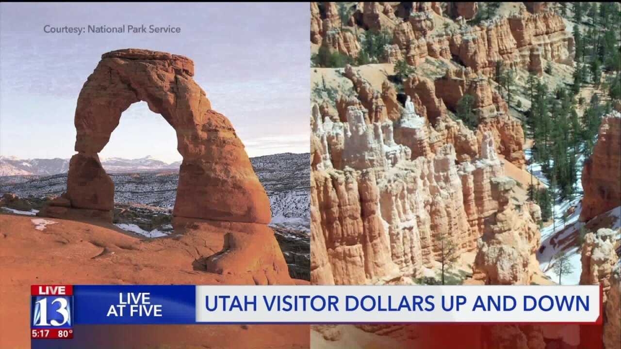 National park and recreation area data shows Lake Powell visitation way down, Zion up