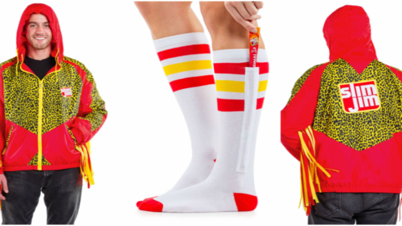 You Can Now Buy Slim Jim-themed Clothing And Accessories