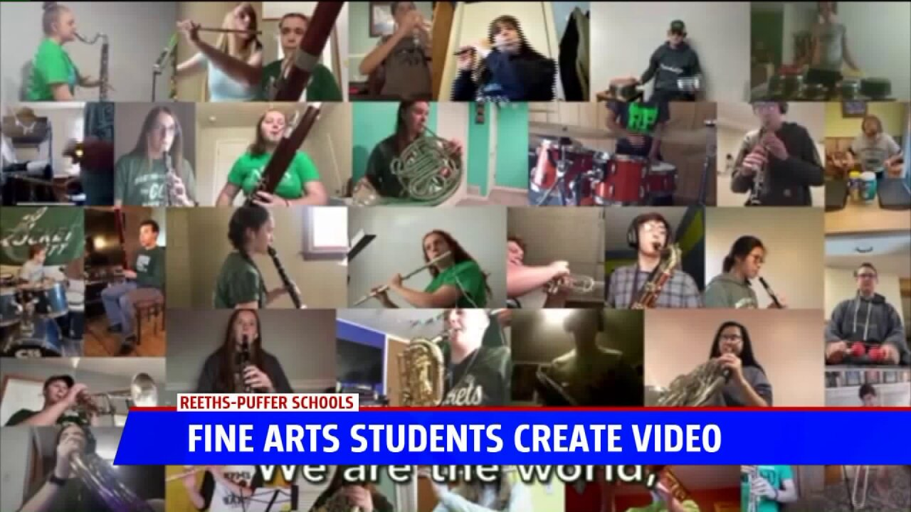 Reeths-Puffer students produce video