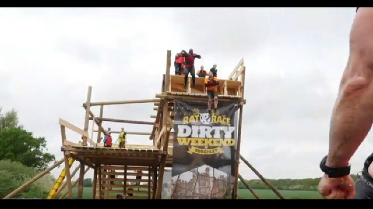 230-plus obstacles in a 20-mile loop: The Rat Race claims to be the world's largest obstacle course