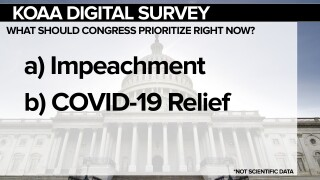 KOAA Survey: What should congress prioritize right now?
