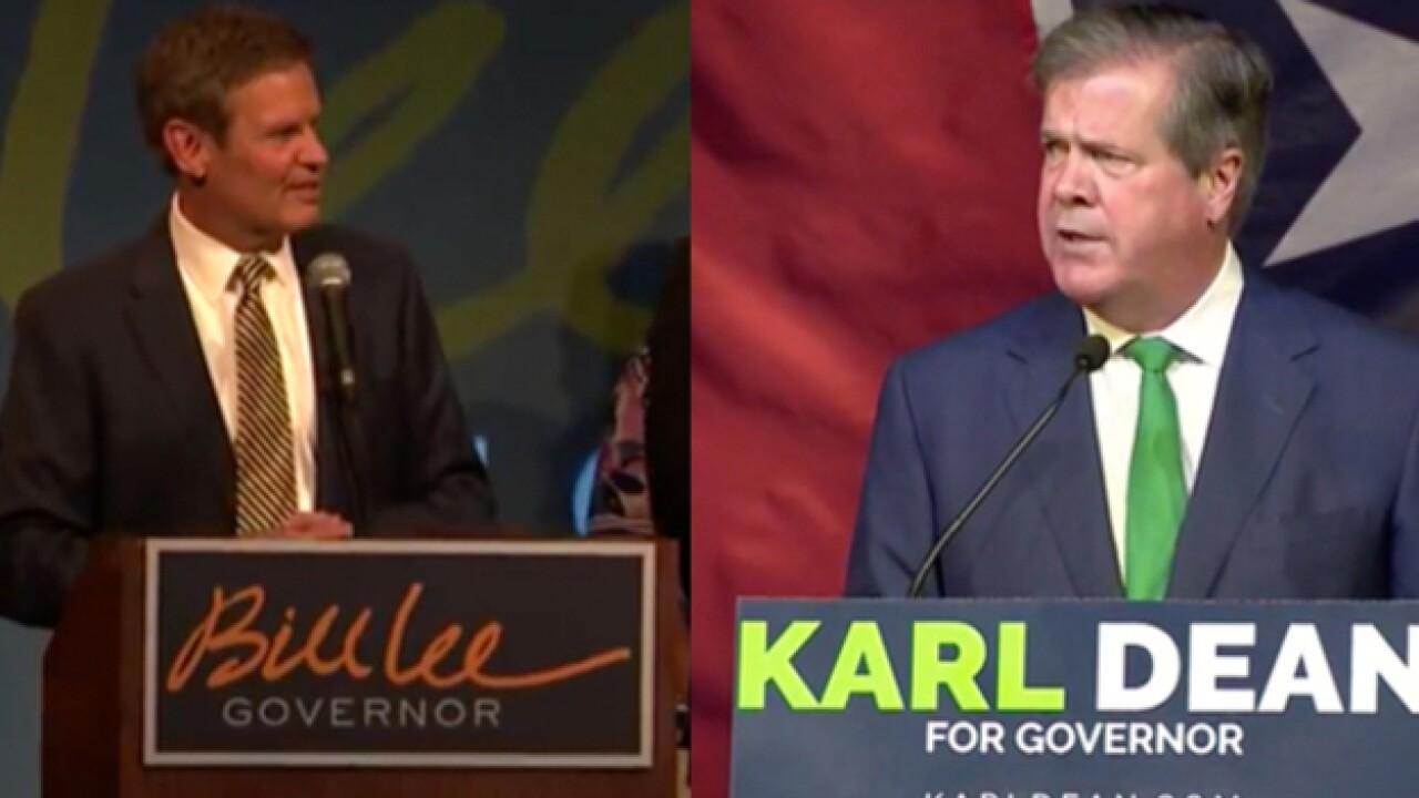 Bill Lee, Karl Dean Hope To Be Tennessee's Next Governor