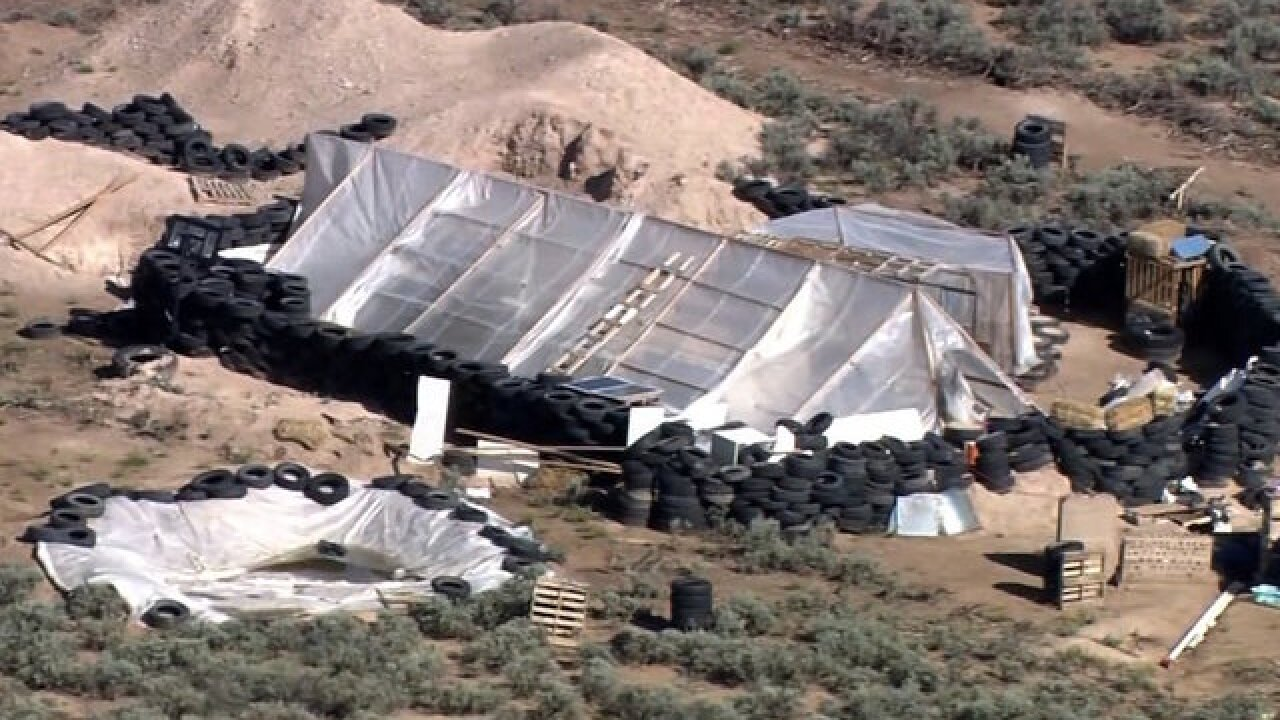 New Mexico compound suspects were training children for school shootings, prosecutors say