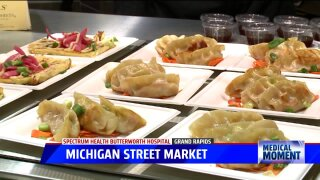 Medical Moment: Michigan Street Market
