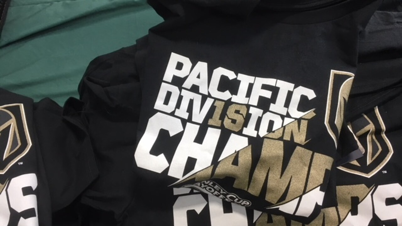 DICK'S is ready to sell VGK championship gear