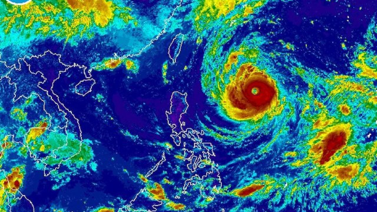Typhoon Trami: Taiwan on guard as storm builds to super typhoon strength