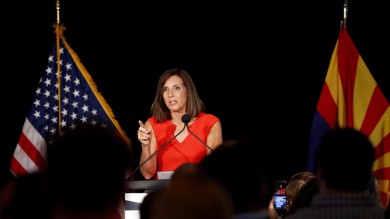 Arizona Sen. Martha McSally says she was raped by a superior officer while serving in the Air Force
