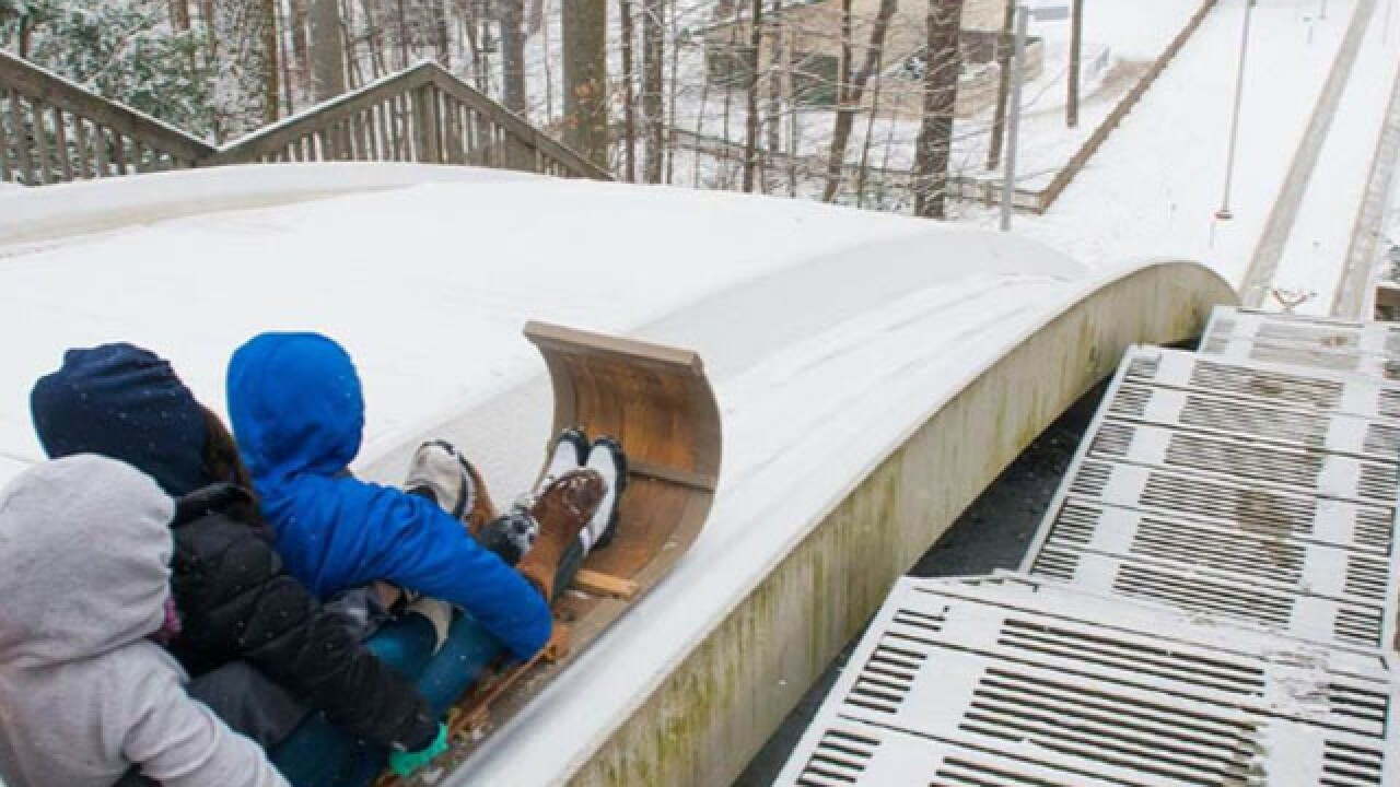 The tallest and fastest toboggan chutes in Ohio open up for the season this weekend