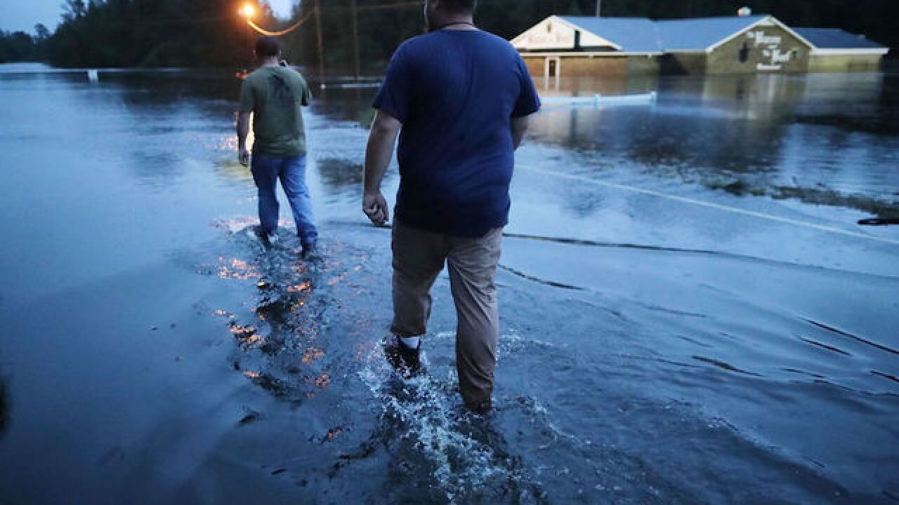 Hundreds are still trapped from Florence's flooding, and 'the worst is still yet to come'