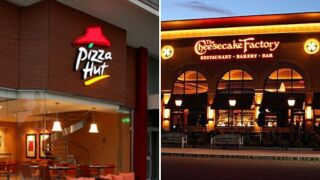 Pizza Hut and Cheesecake Factory