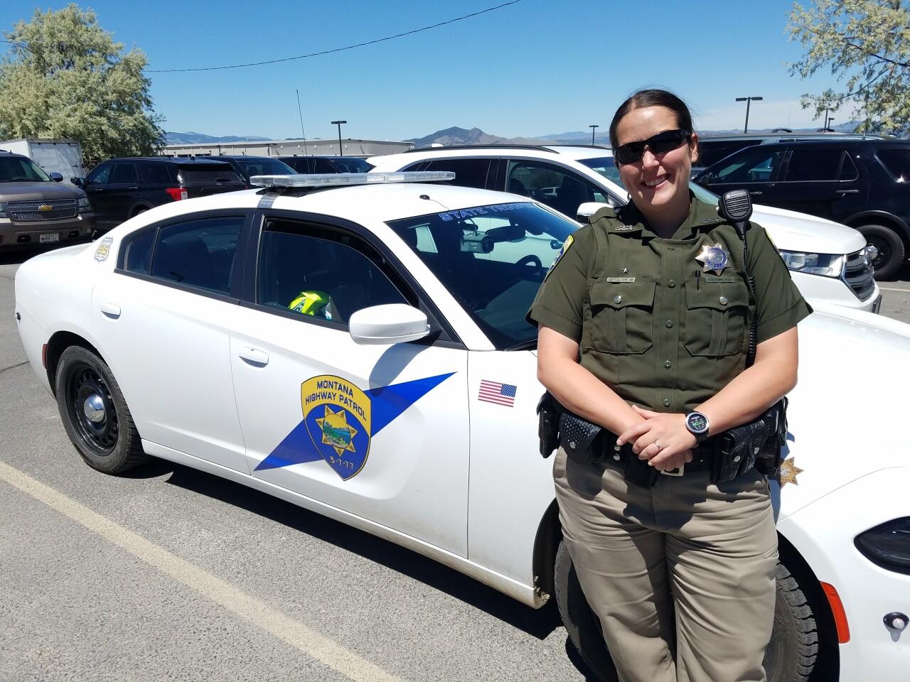 Montana Highway Patrol Trooper Amanda Villa