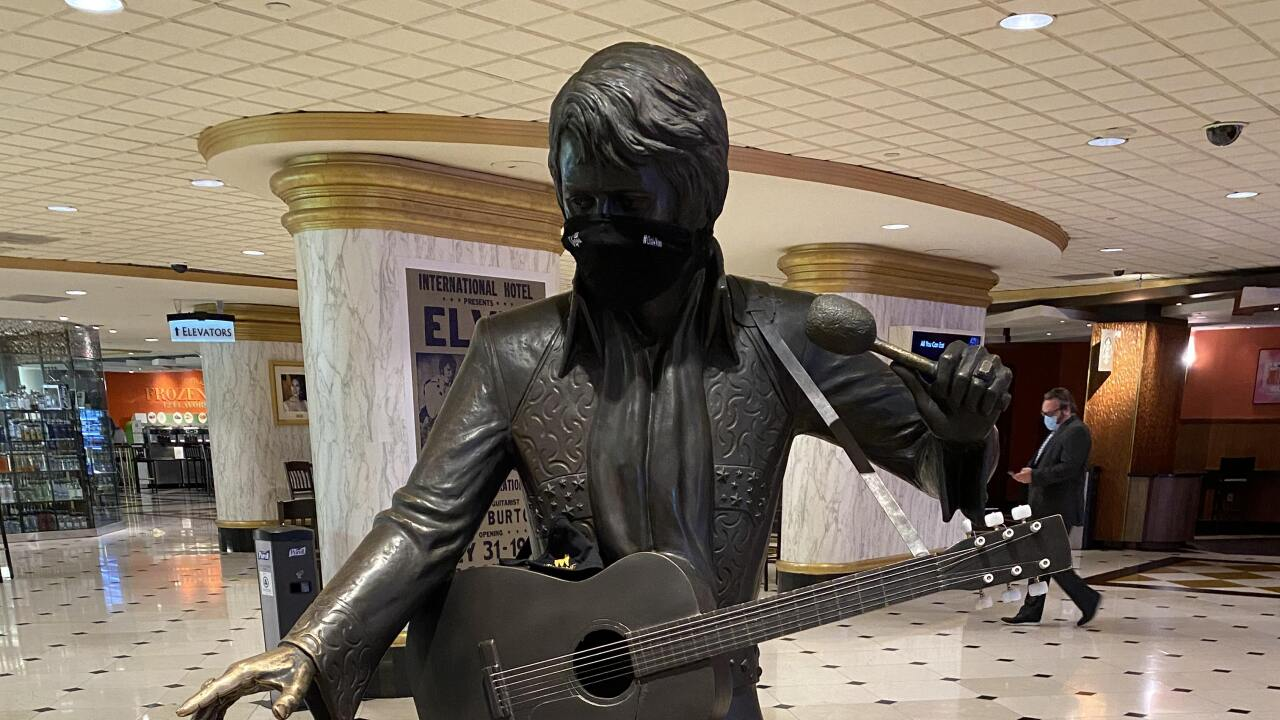 Originally the International Hotel, the Westgate Las Vegas is site of many reported Elvis sightings over the years.