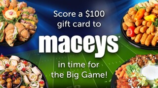 Macey's Big Game Super Fan Contest