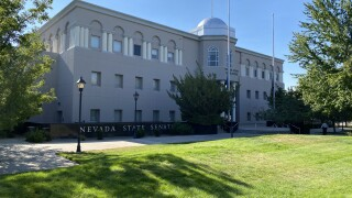 The Nevada Legislature building is located in Carson City, Nevada