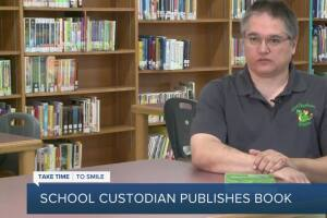 Custodian writes book inspired by teachers and staff at school he said saved his life