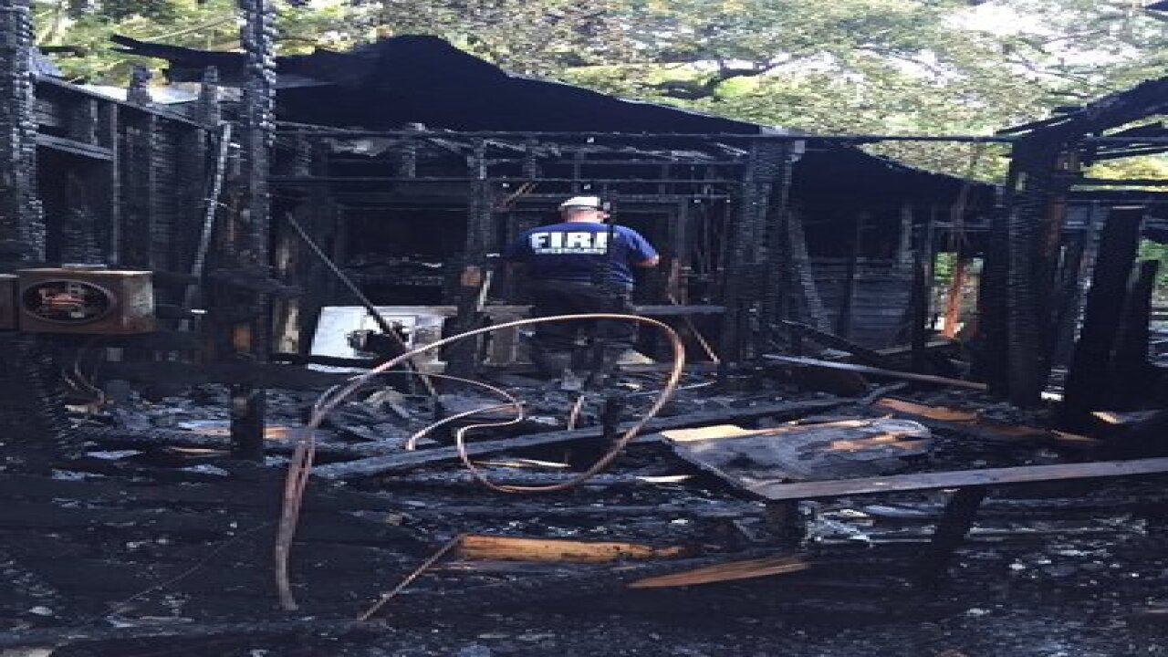 Crews respond to house fire in St. Pete