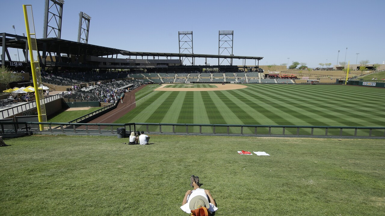 Brewers Rockies Spring Baseball