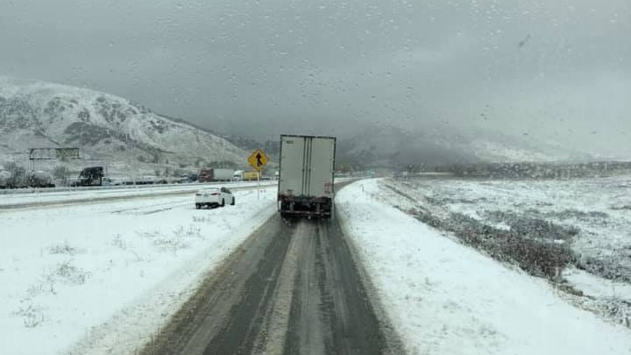 5 Freeway Over G Vine Back Open After Being Closed Due To Snow Crashes