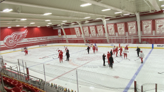 Red Wings 2020-21 training camp