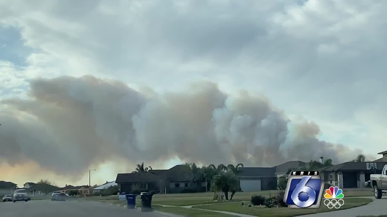Smoky conditions over Southside