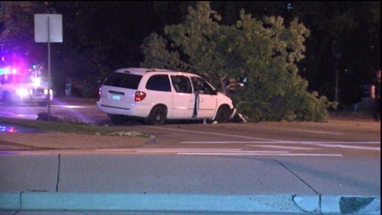 4-vehicle crash closes Colfax at Speer