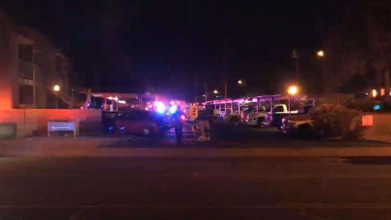 FD: 3 injured in 1st alarm fire in Phoenix