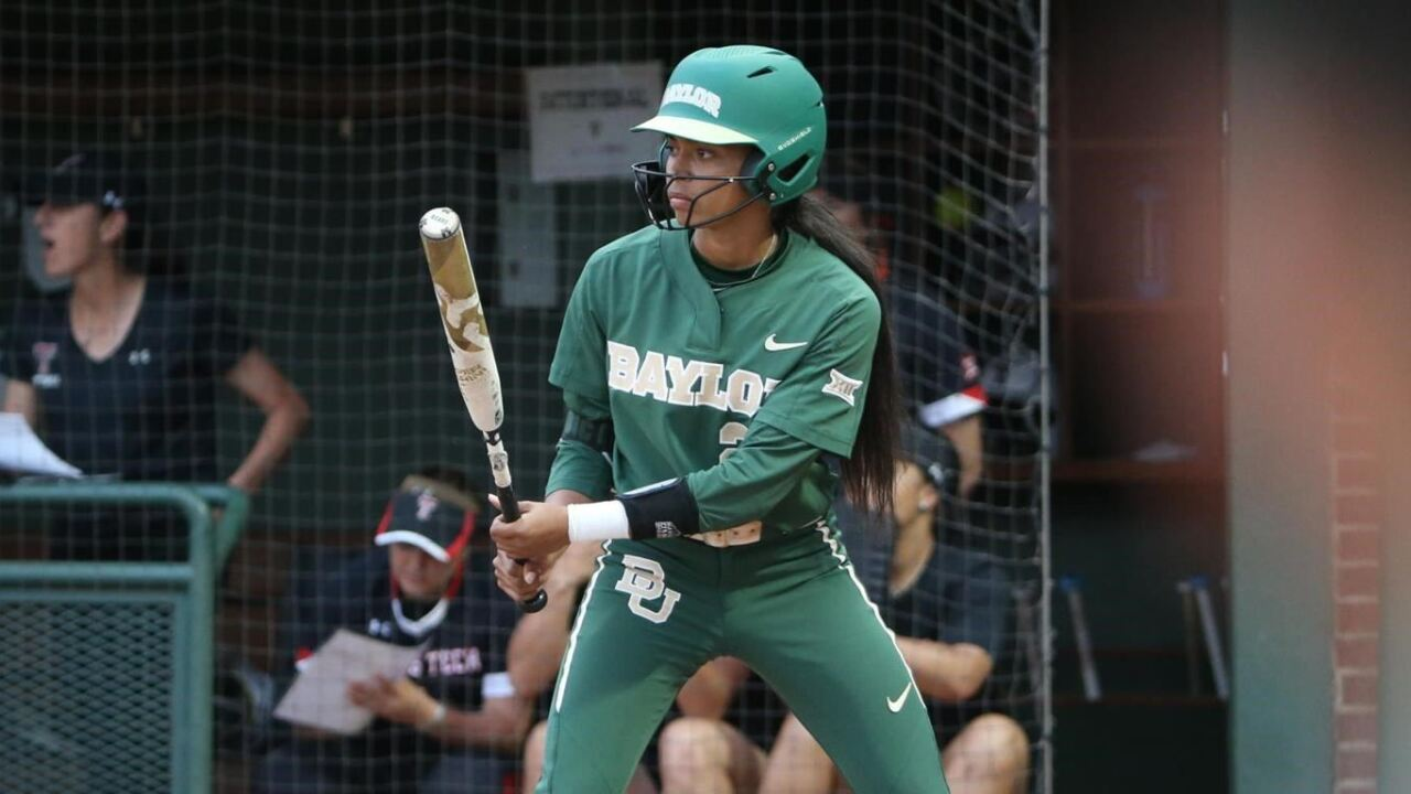 baylor softball nicky dawson