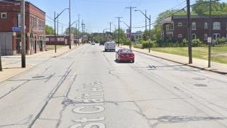 Area of St. Clair and East 115th Street.