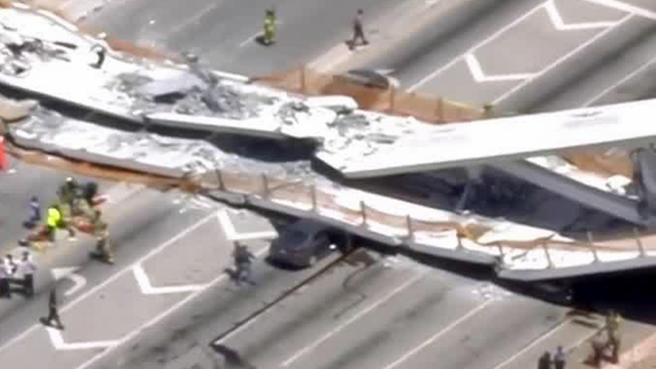 Bridge that collapsed in Miami was designed to withstand Category 5 hurricane