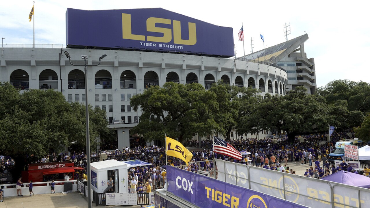 LSU to stop wellness checks at entry gates, will sell alcohol at games