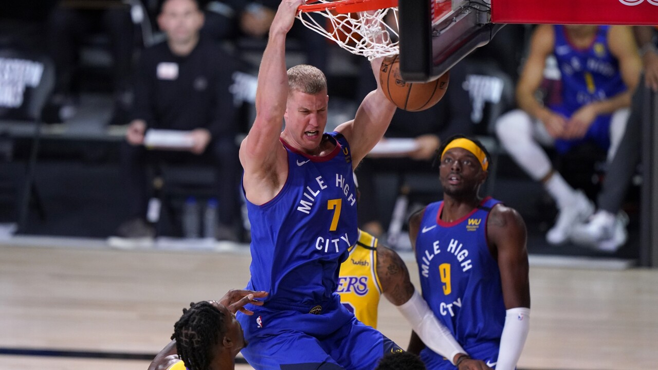 Mason Plumlee, Dwight Howard, Jerami Grant