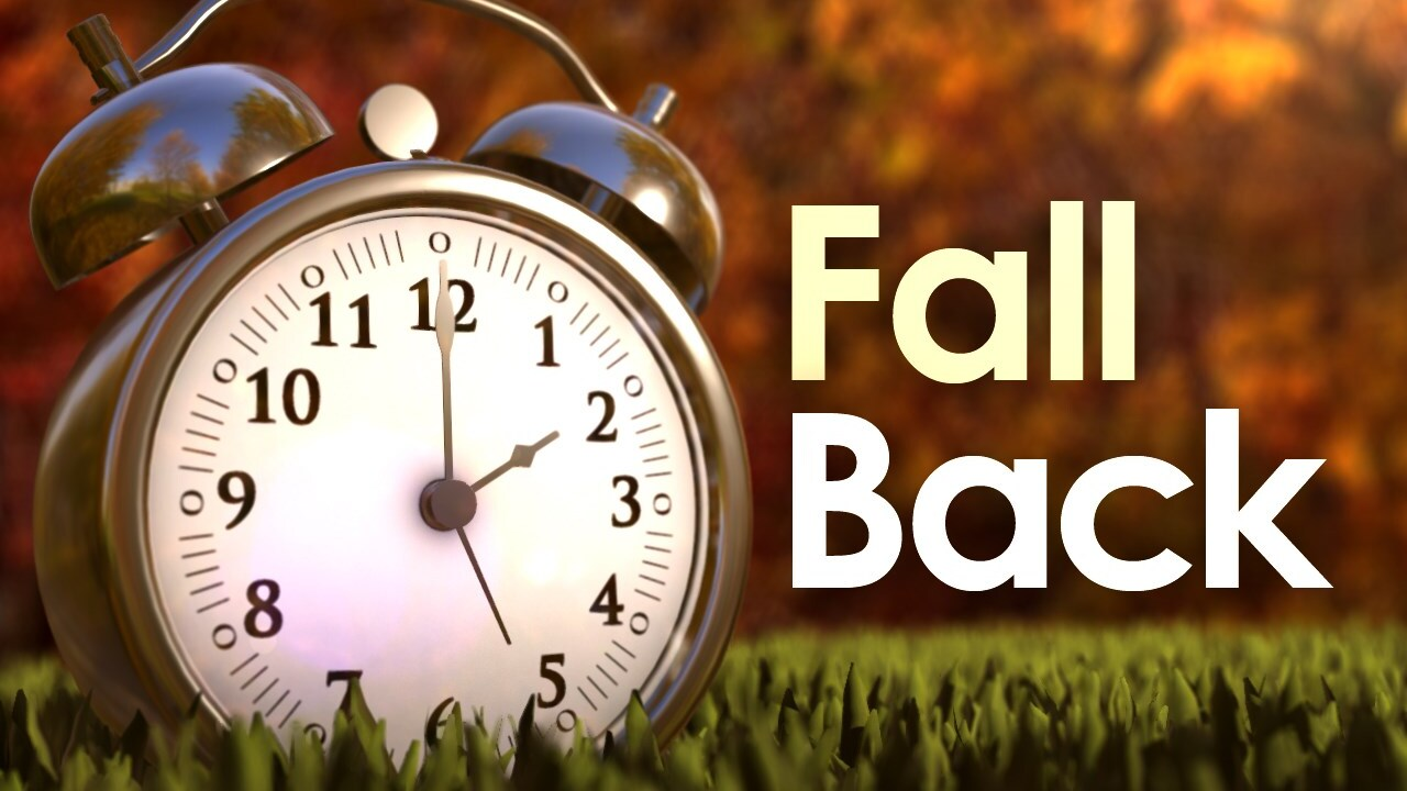 Image result for turn clocks back
