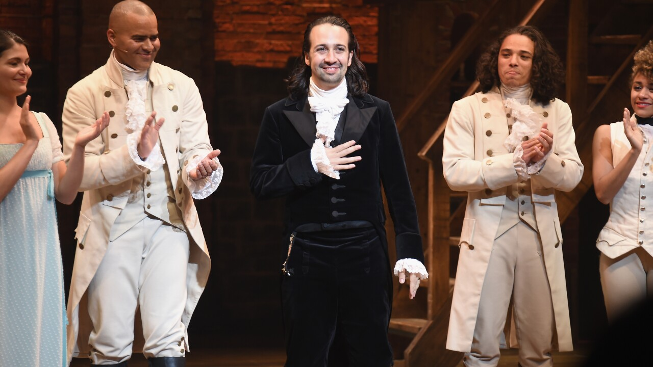 'Hamilton' tickets for Chrysler Hall shows go on sale September 27
