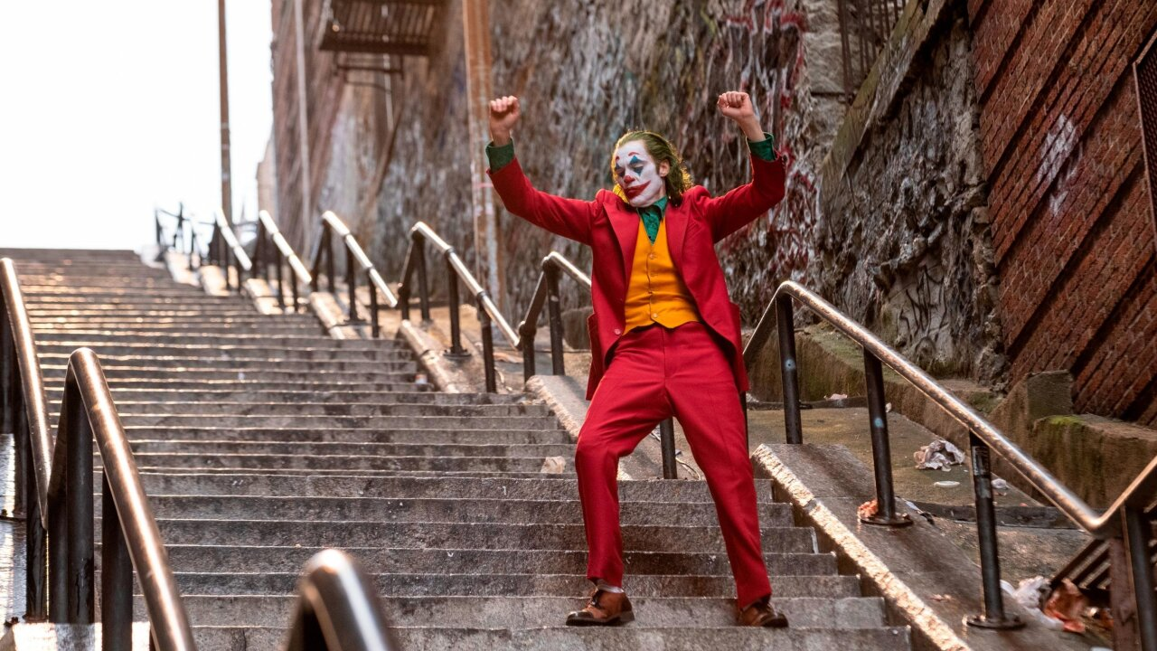 The 'Joker' stairs might be New York's latest tourist attraction
