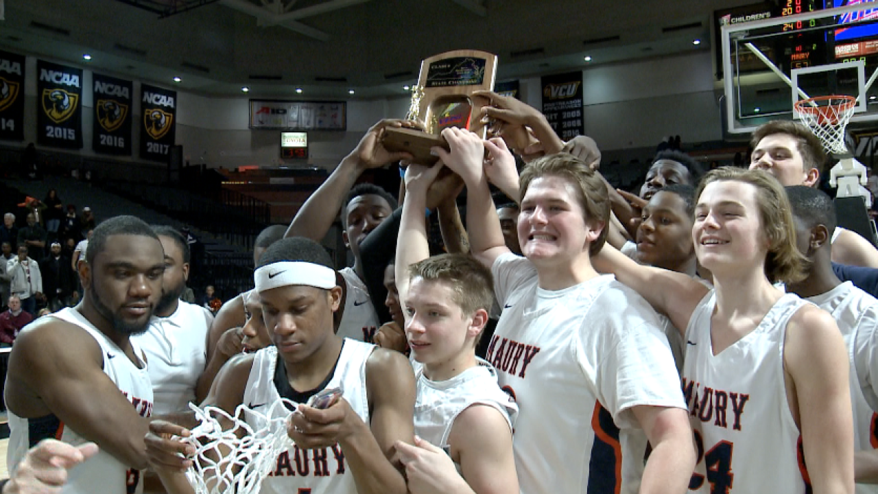 Maury makes history! Commodores win first boys basketball title since1927