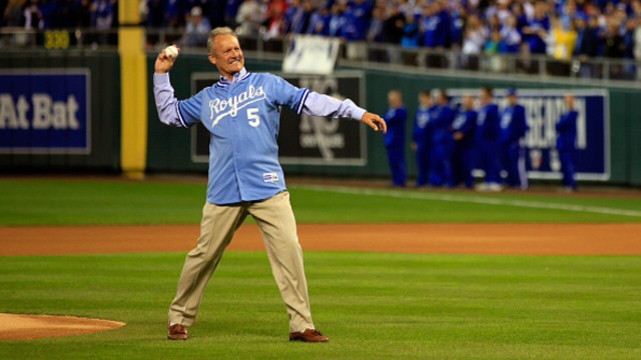 Royals great George Brett spotted at White House