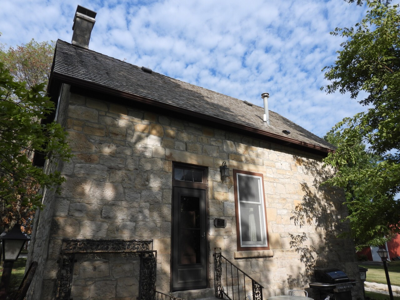 Stone House Airbnb in Winterset
