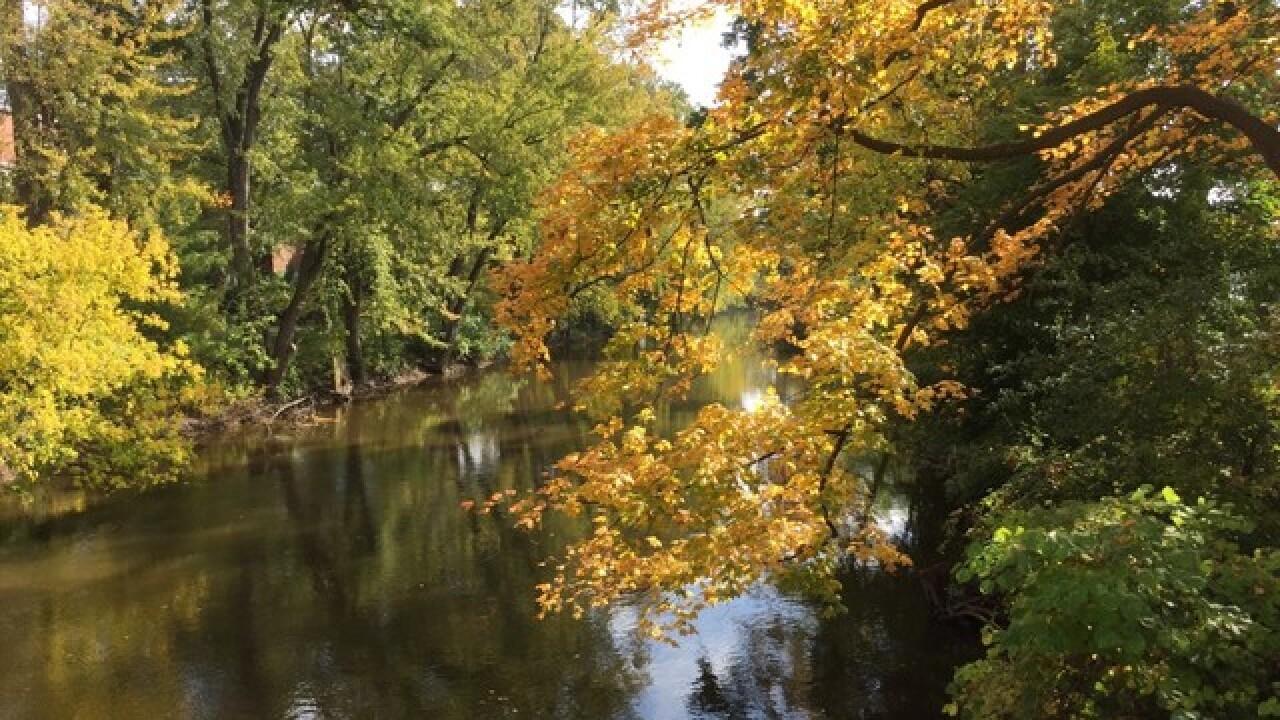 Grand River Flow >> Divers Repair Leak That Allow Sewage Flow Into Grand River