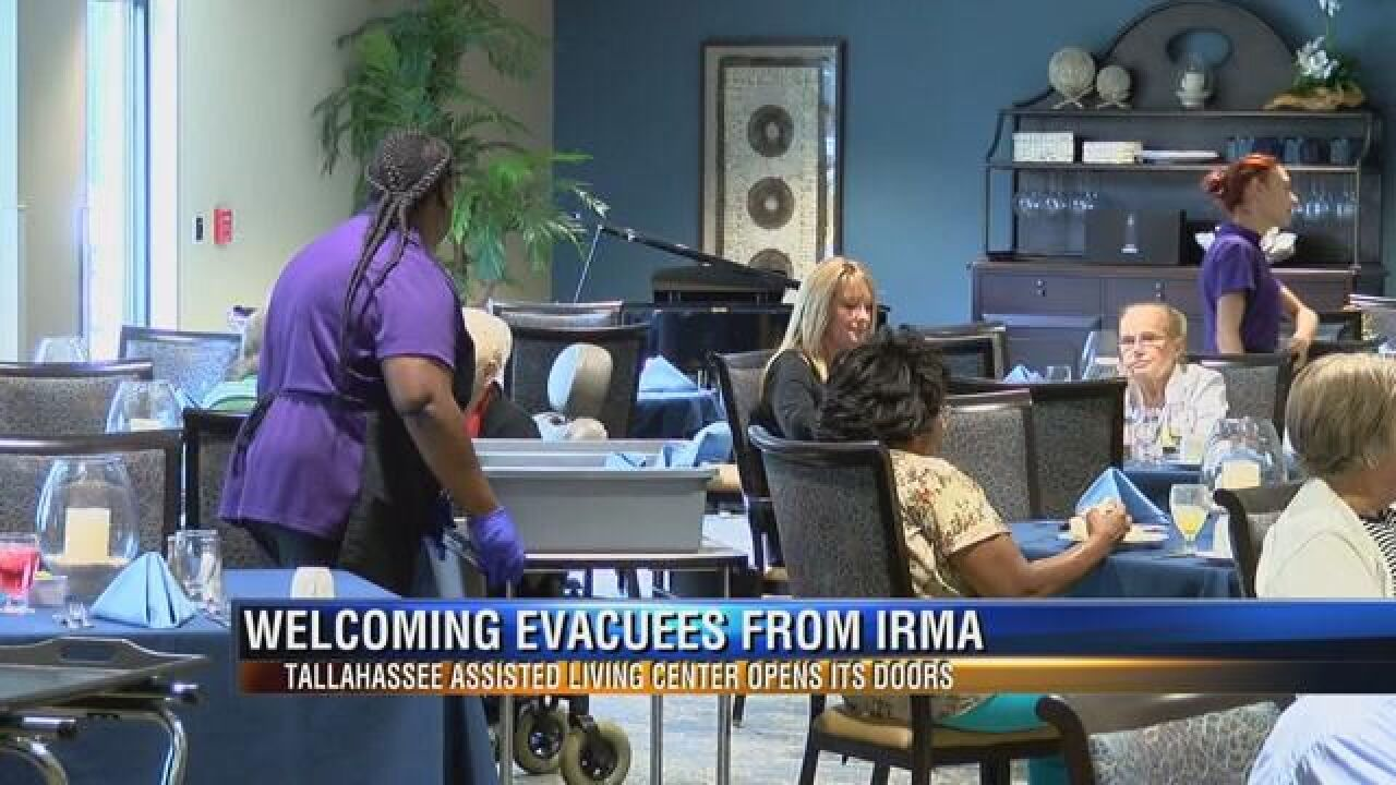 Local assisted living to house senior citizens escaping Irma