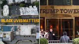 New York postpones painting of Black Lives Matter mural outside of Trump Tower until next week