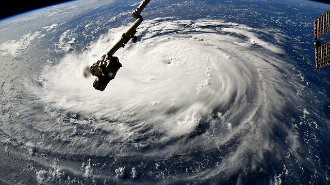 Hurricane Florence, already a monster, is due to strengthen as 1 million people are told to flee